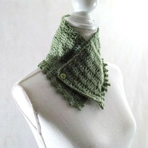 Cowl Wrap Crochet Handmade